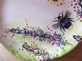 Silk Printing onto Pottery