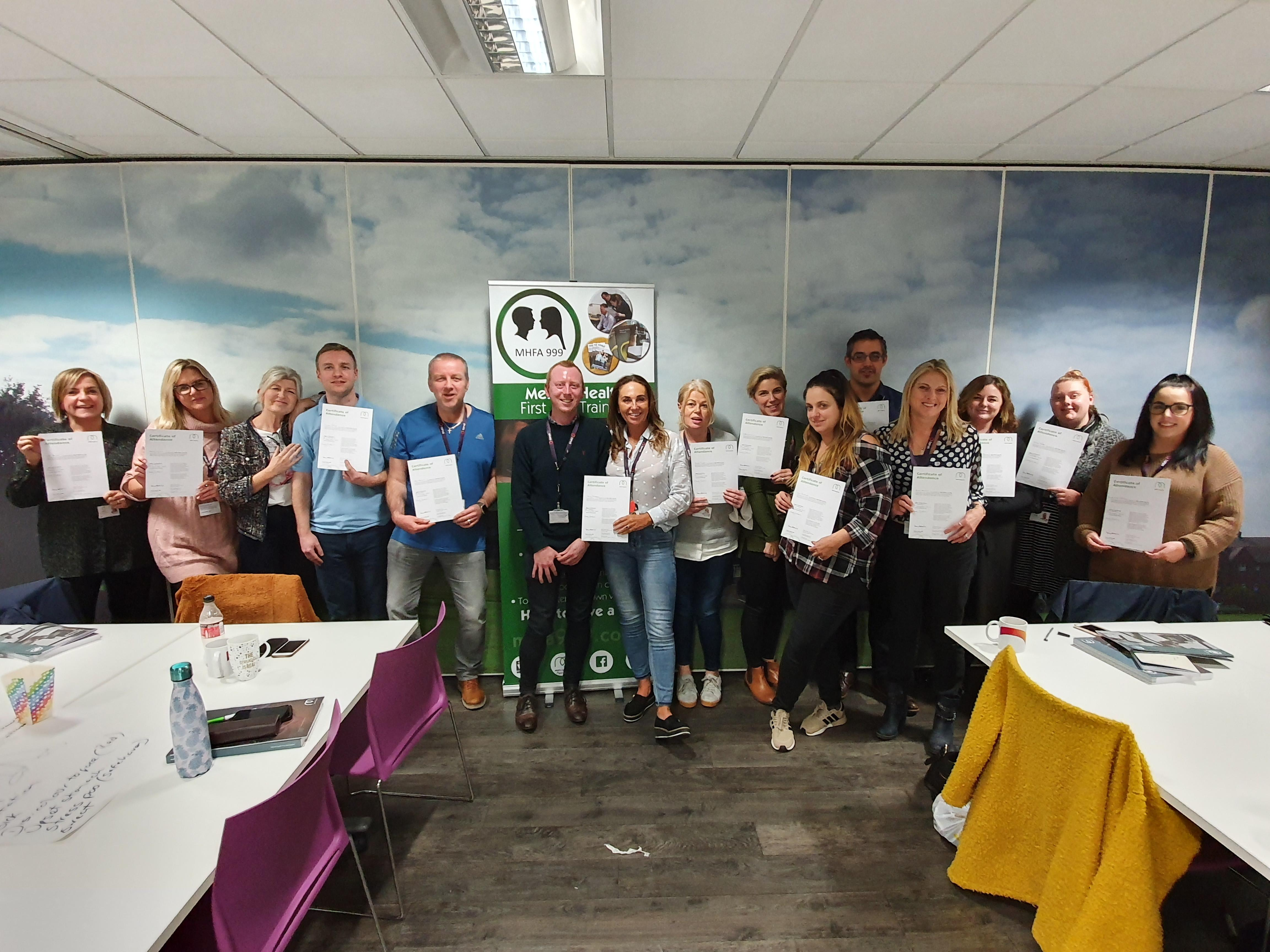 Workplace Mental Health First Aid Training Course (2 Day)