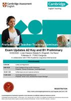 Exam Updates A2 Key and B1 Preliminary and Digital...