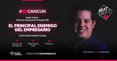 BeatNight Cancún con Jorge Castro