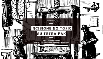 Workshop incisione no toxic su tetra pak