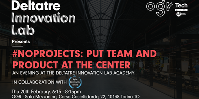 #NoProjects: put team and product at the center