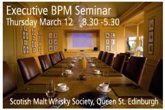 Edinburgh, Scotland - Senior Executives One Day BPM...