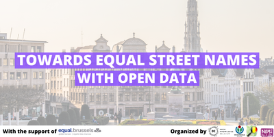 Towards Equal Street Names with Open Data