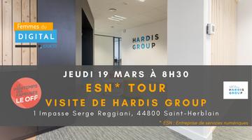 FDOuest I ESN TOUR : Visite de HARDIS Group