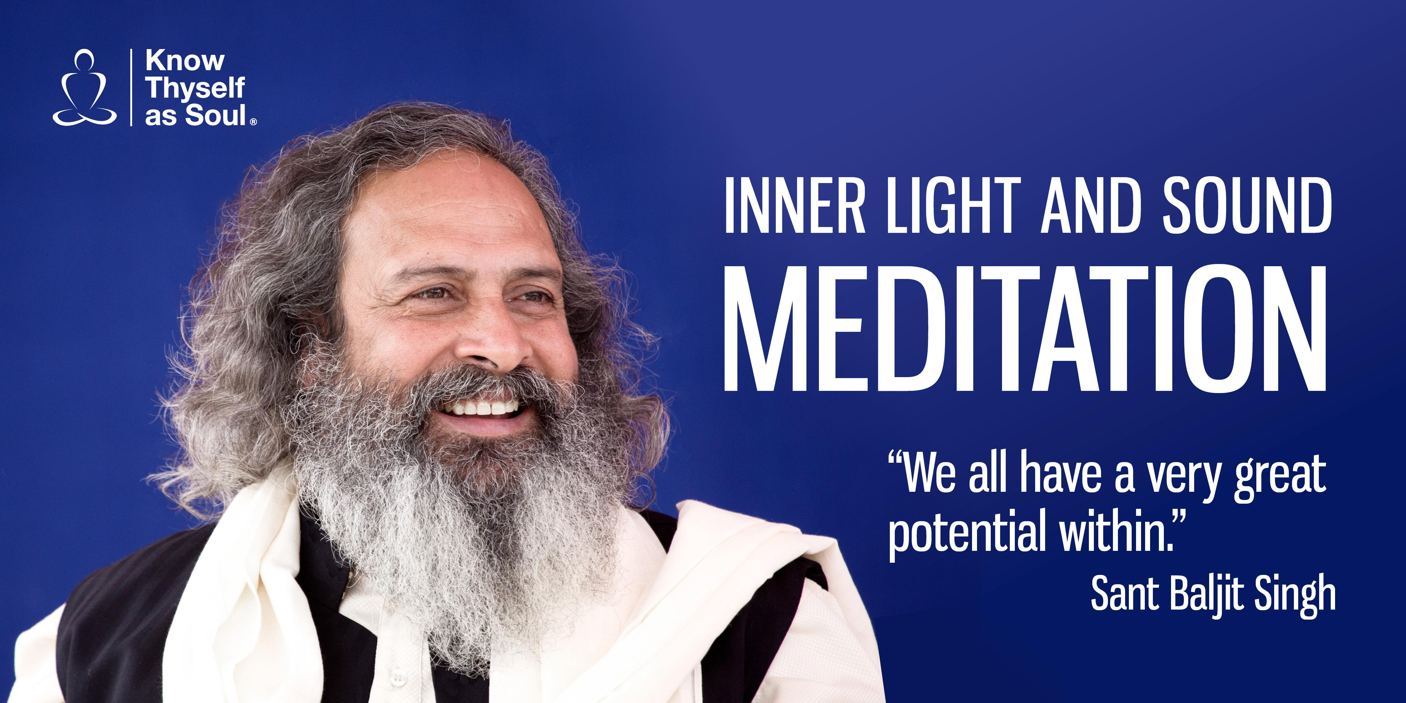 Inner Light and Sound Meditation - Free Program