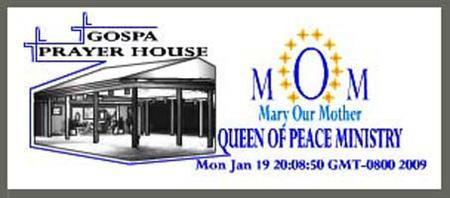 Gospa Prayer House Registration
