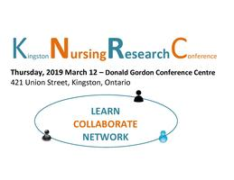 Kingston Nursing Research Conference 2020