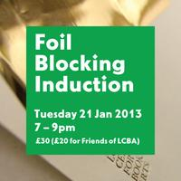 Foil Blocking Induction: 21 January 2013