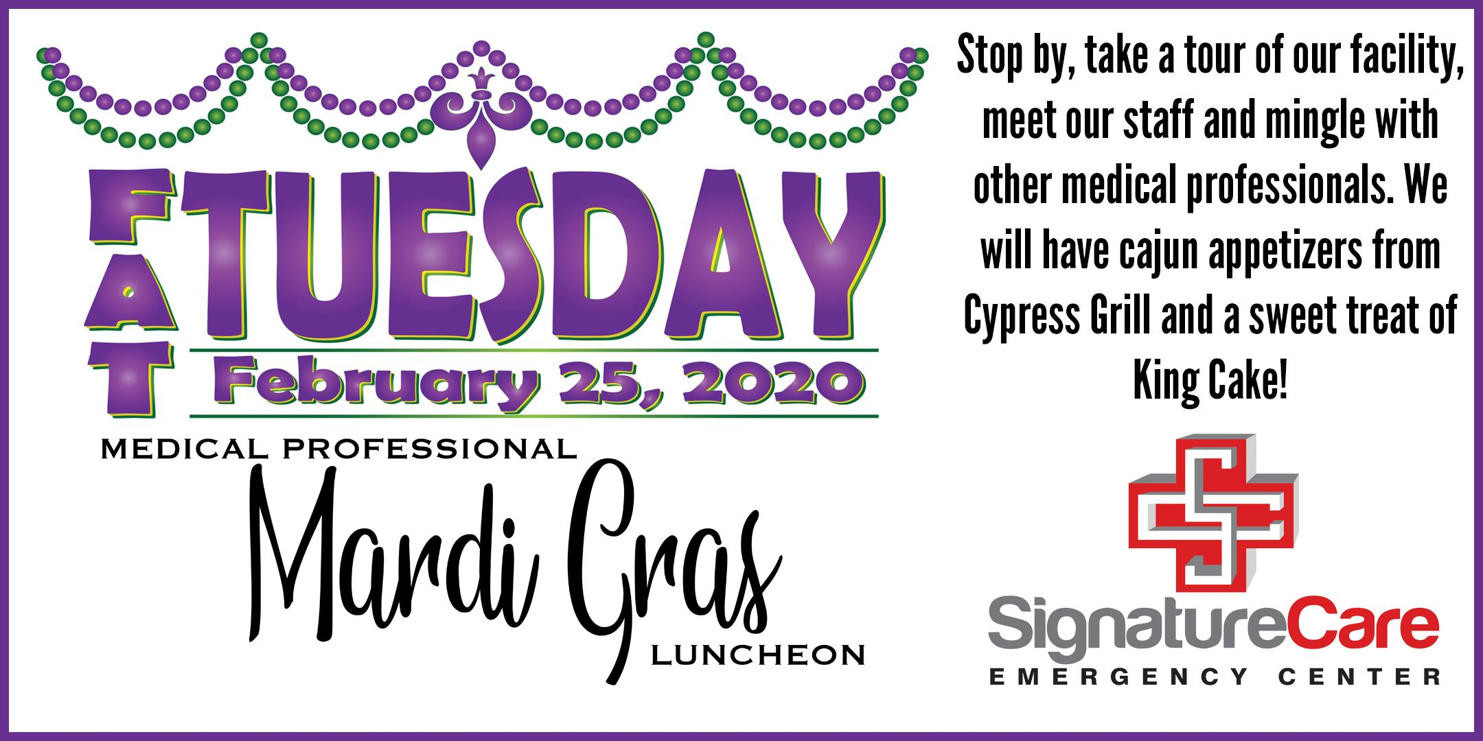 Fat Tuesday Medical Networking Party