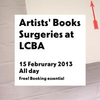 Artists' Books Surgeries at LCBA