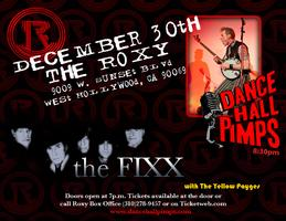 Dance Hall Pimps opening for The Fixx with The Yellow P...