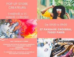 Pop up Store créateurs et petites marques parisienne