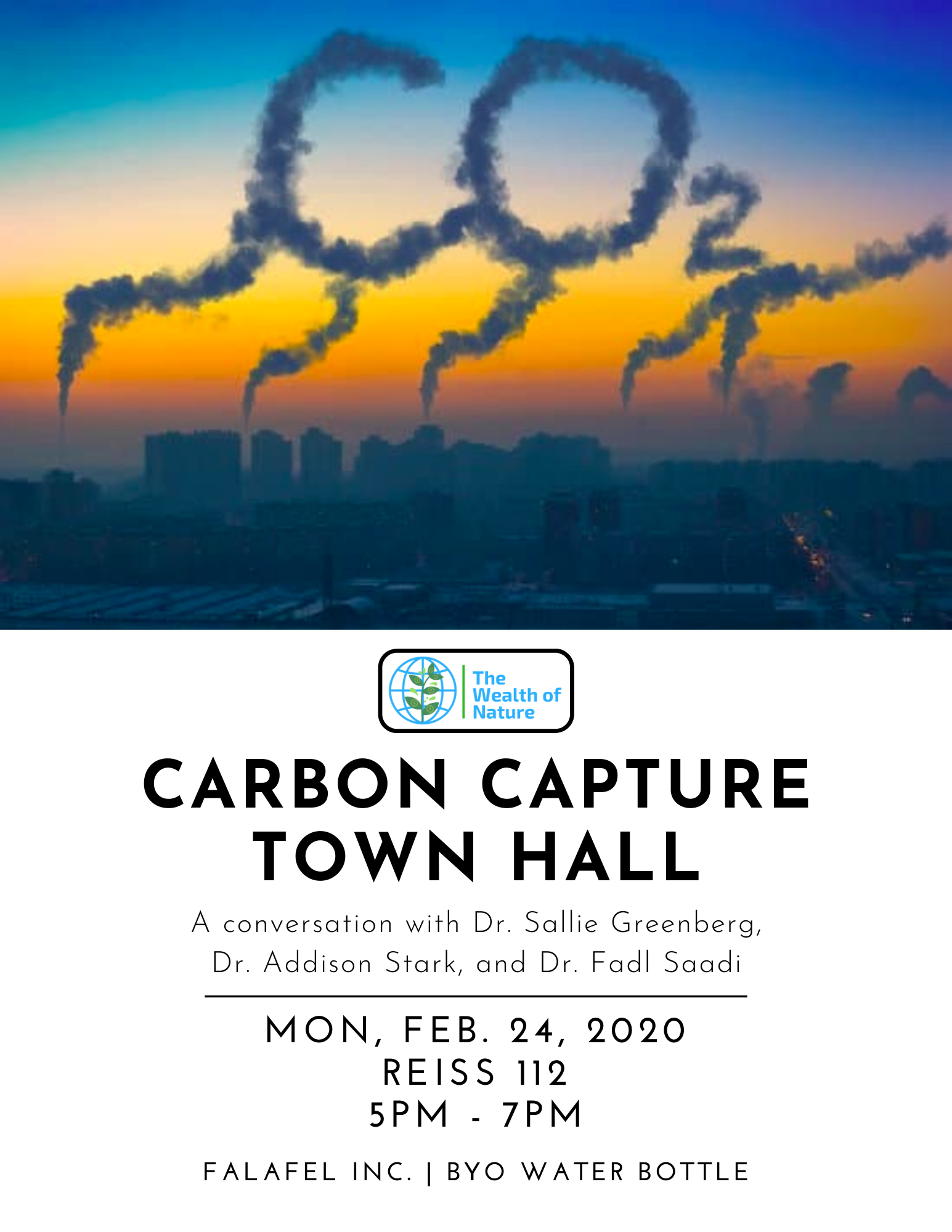 Carbon Capture Town Hall