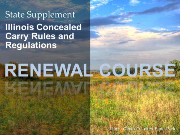 3 Hour Renewal Concealed Carry Class - Midlothian, IL