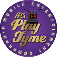 It's PlayTyme Mobile Game Show Company  logo