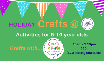 Easter Craft Club for 6-10 year olds