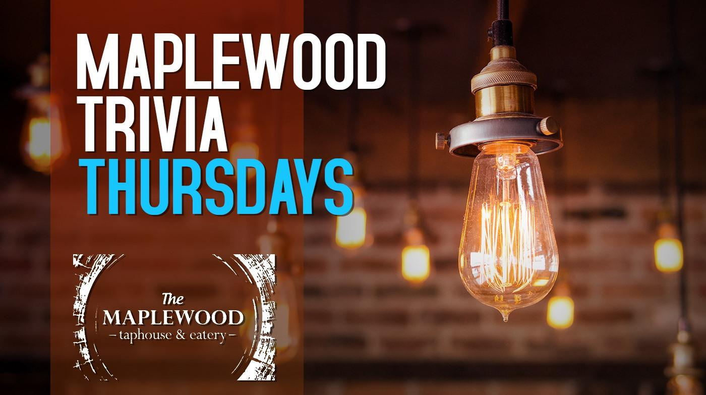 Thursday Night Trivia at Maplewood Taphouse