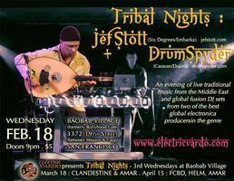 Tribal Nights : JEF STOTT + DRUMSPYDER