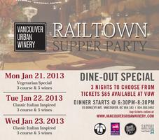 Railtown Supper Party: Vegetarian Special