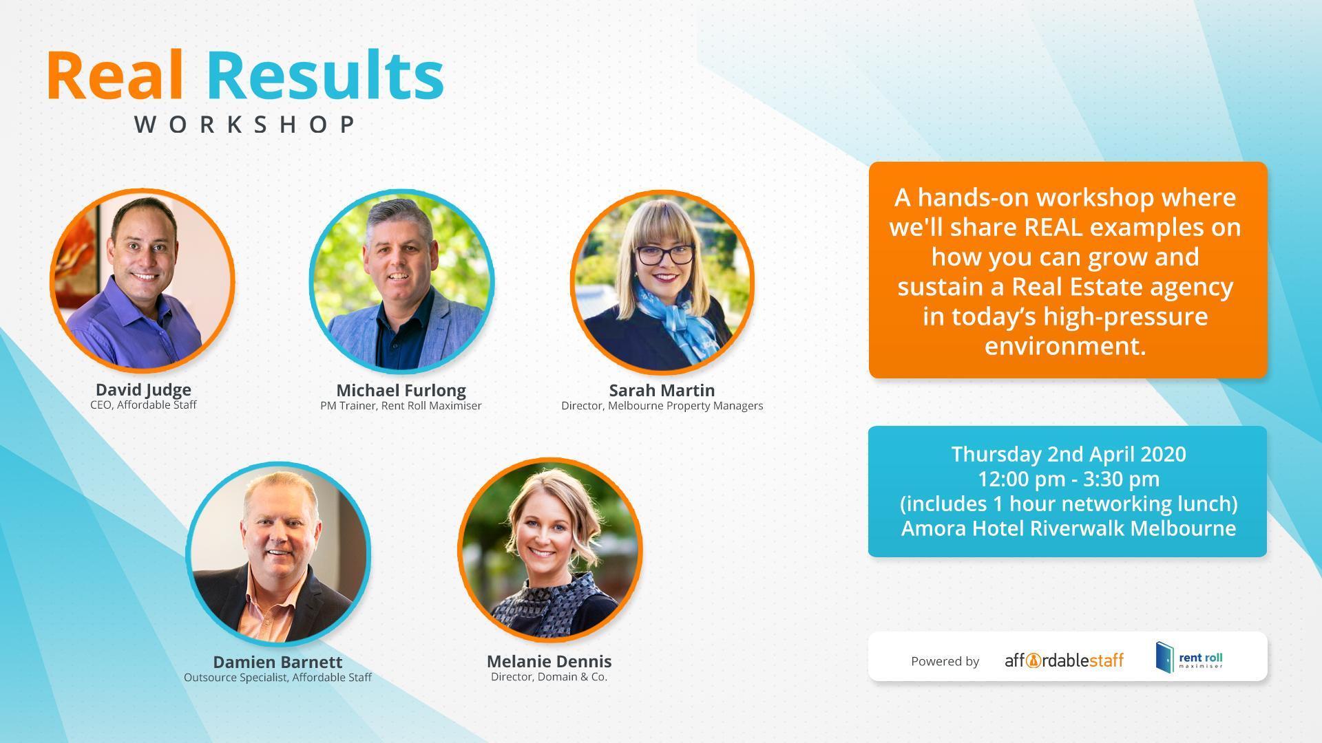 Real Results Workshop