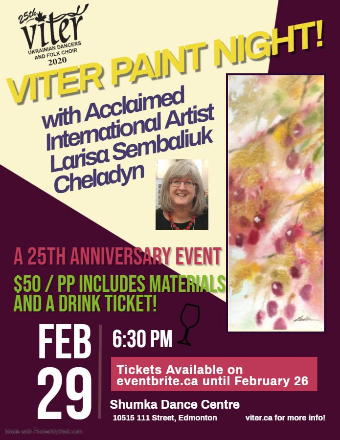 Viter Paint Night!