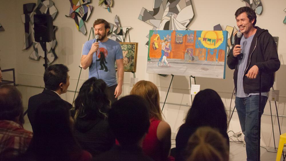 The Art Critique Comedy Show (SAN FRANCISCO - 3.28.20)