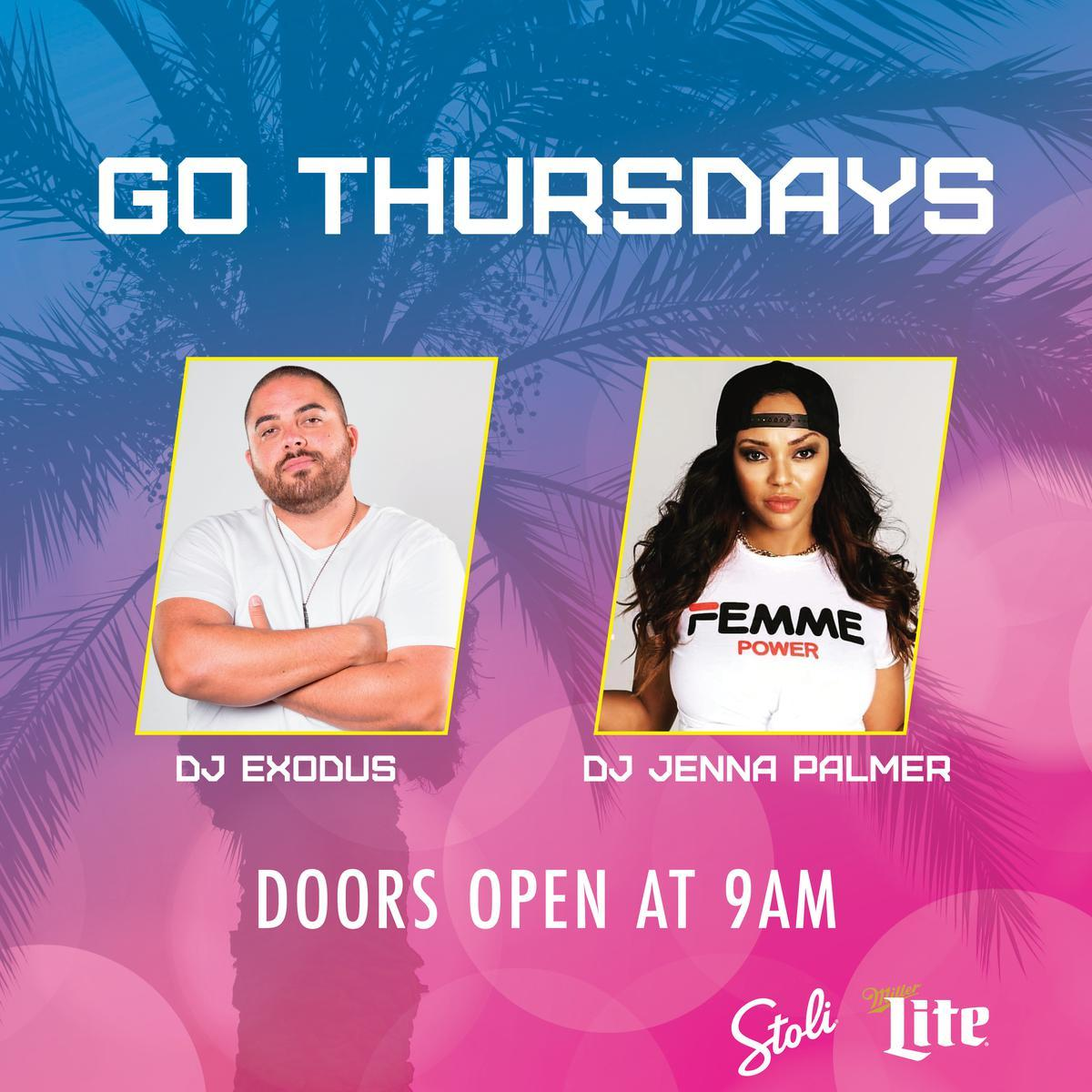 Go Thursday at Go Pool Free Guestlist - 3/26/2020