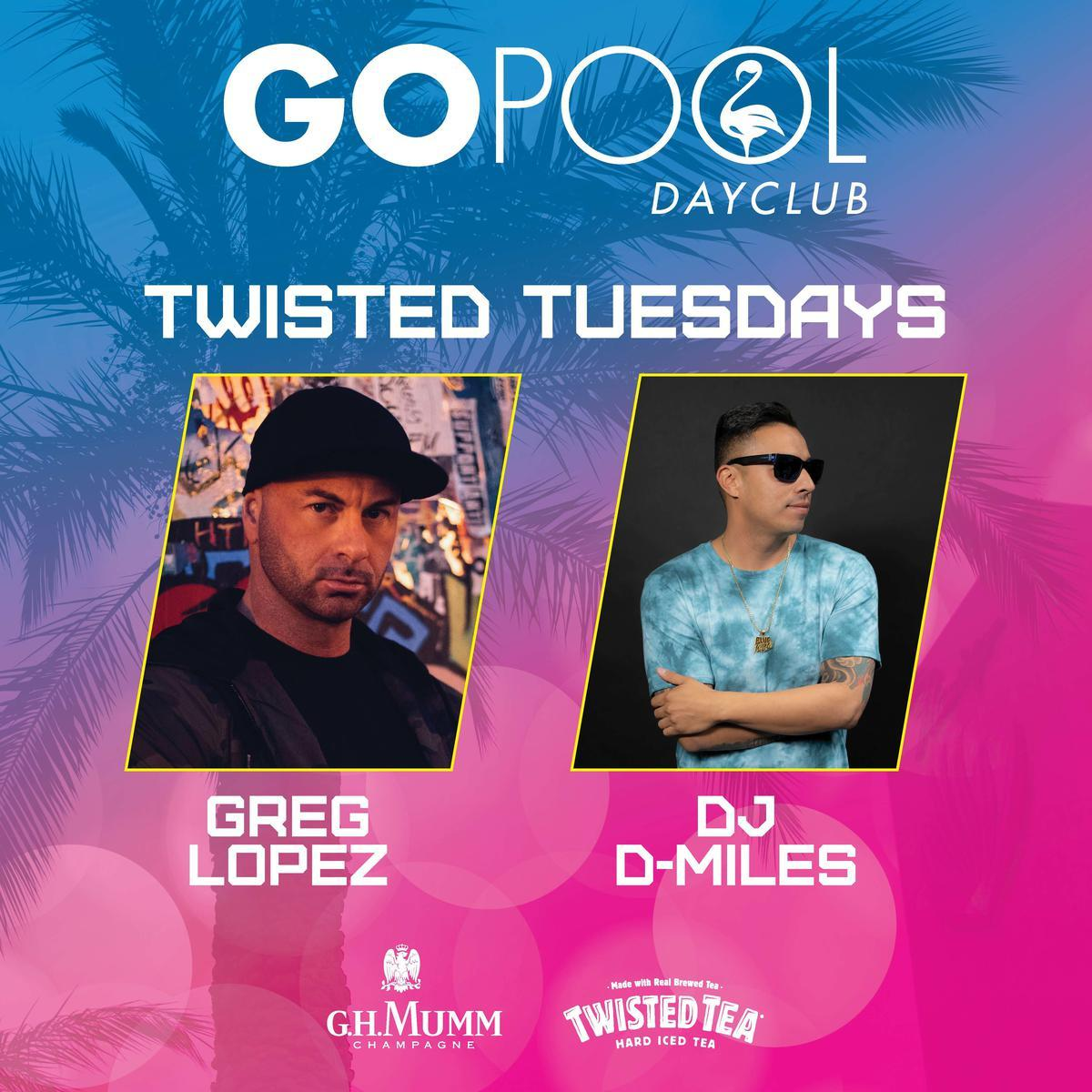 Twisted Tuesday at Go Pool Free Guestlist - 3/31/2020