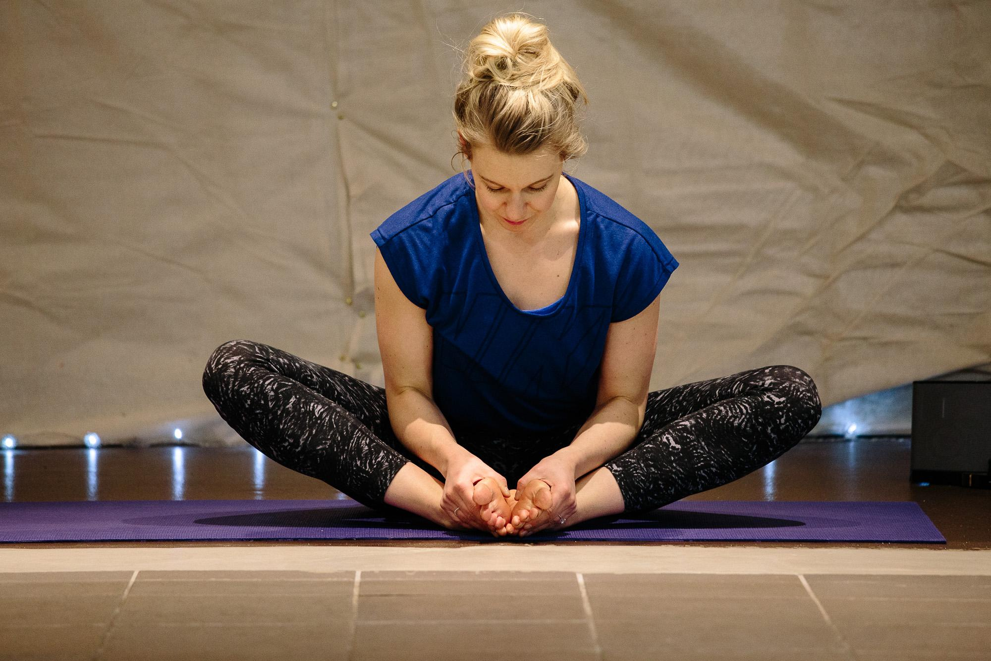 Manage Anxiety and Stress: A Four Week Yoga Course