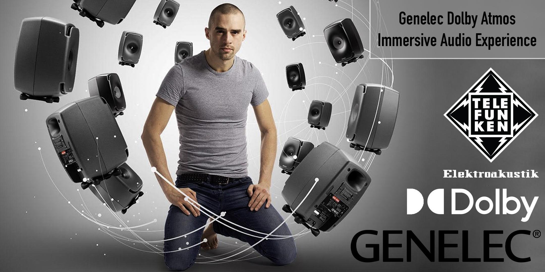 TELEFUNKEN Genelec Dolby Atmos Immersive Audio Experience!!