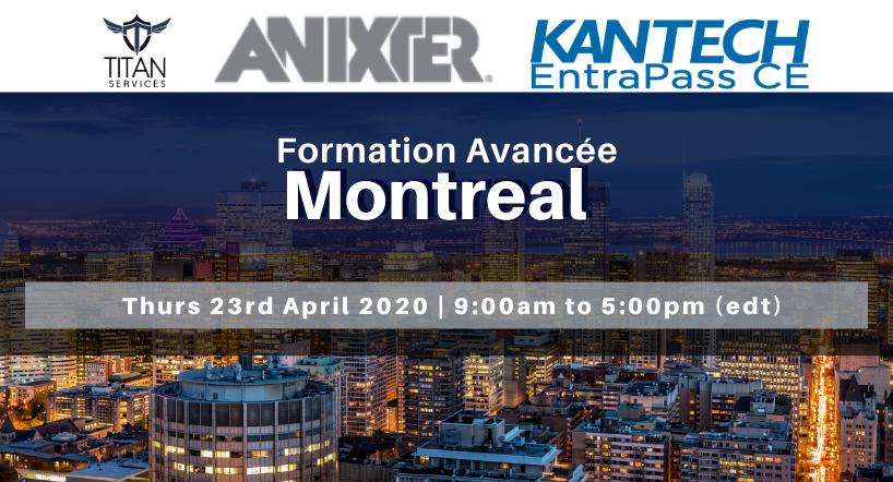 Montreal - Formation Avancée