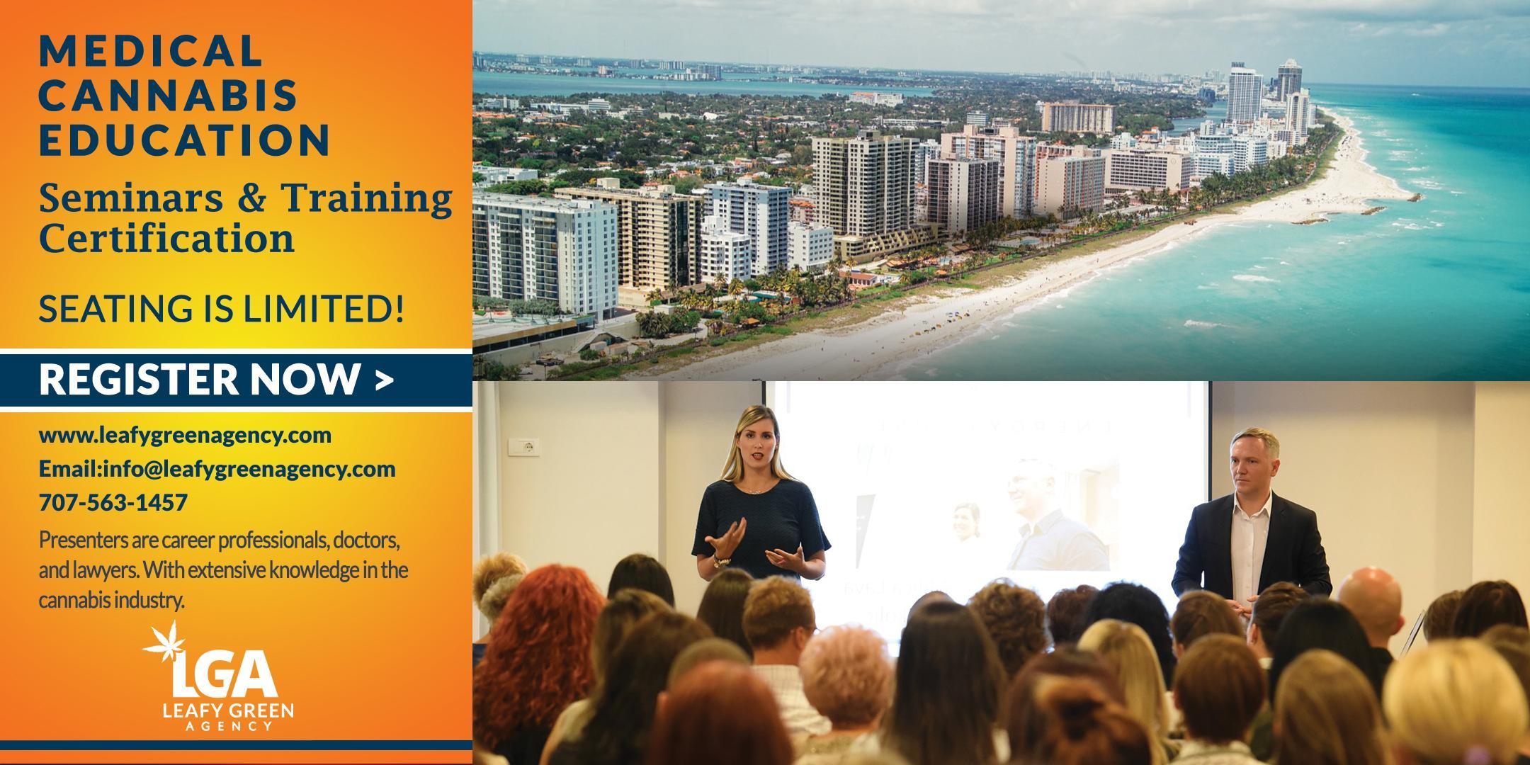 Florida One Day Medical Marijuana Masterclass Workshop - Miami