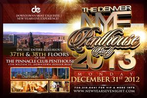 Denver New Year's Eve Penthouse Party 2013