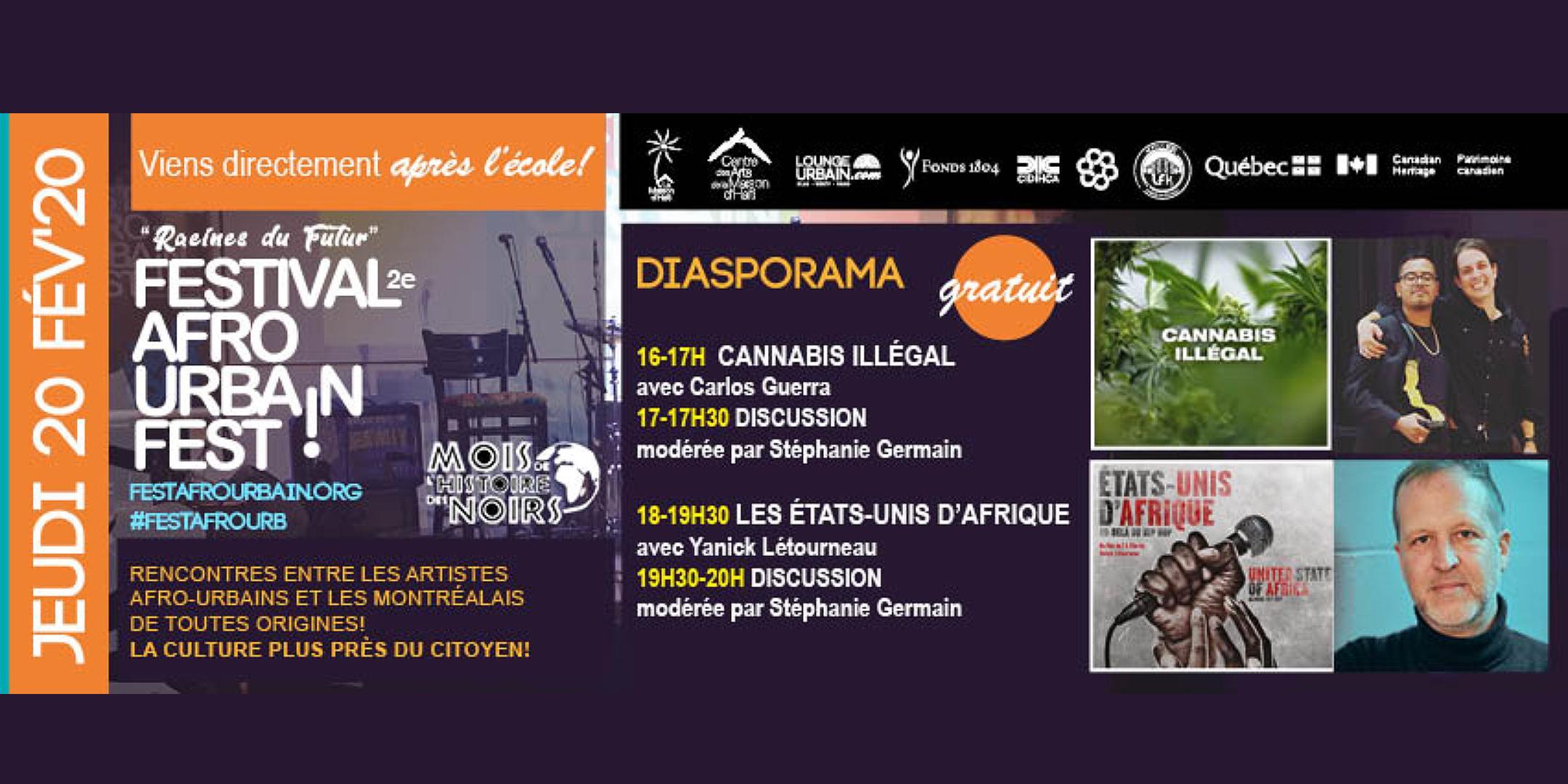 Journée film Diasporama : Festival Afro Urbain