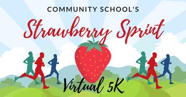 Community School's Strawberry Sprint Virtual 5K