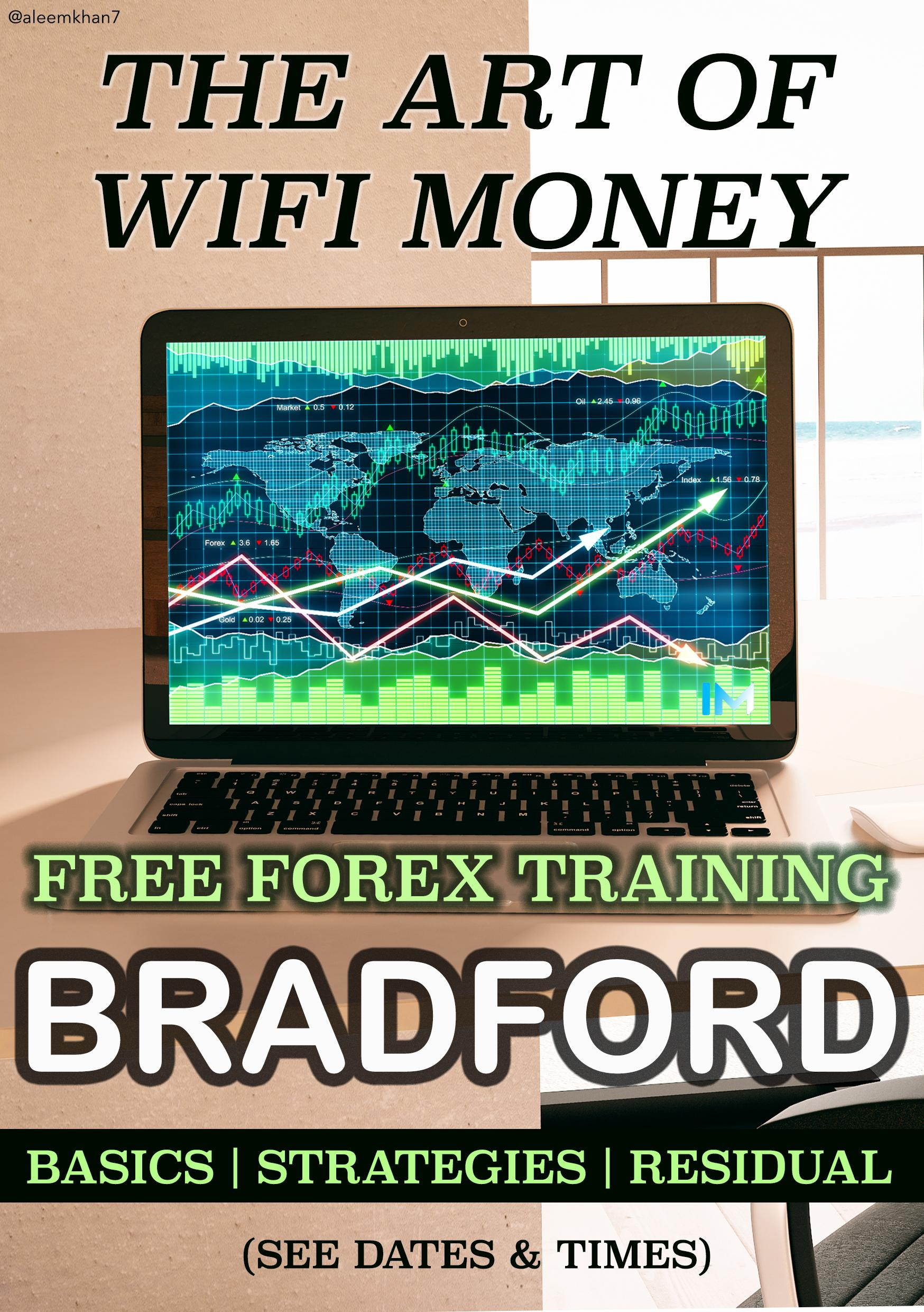 LEARN THE ART OF WIFI MONEY | FREE FOREX CLASS