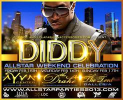 CIROC VODKA PRESENTS DIDDY @ COMPOUND TENT GALLERIA...