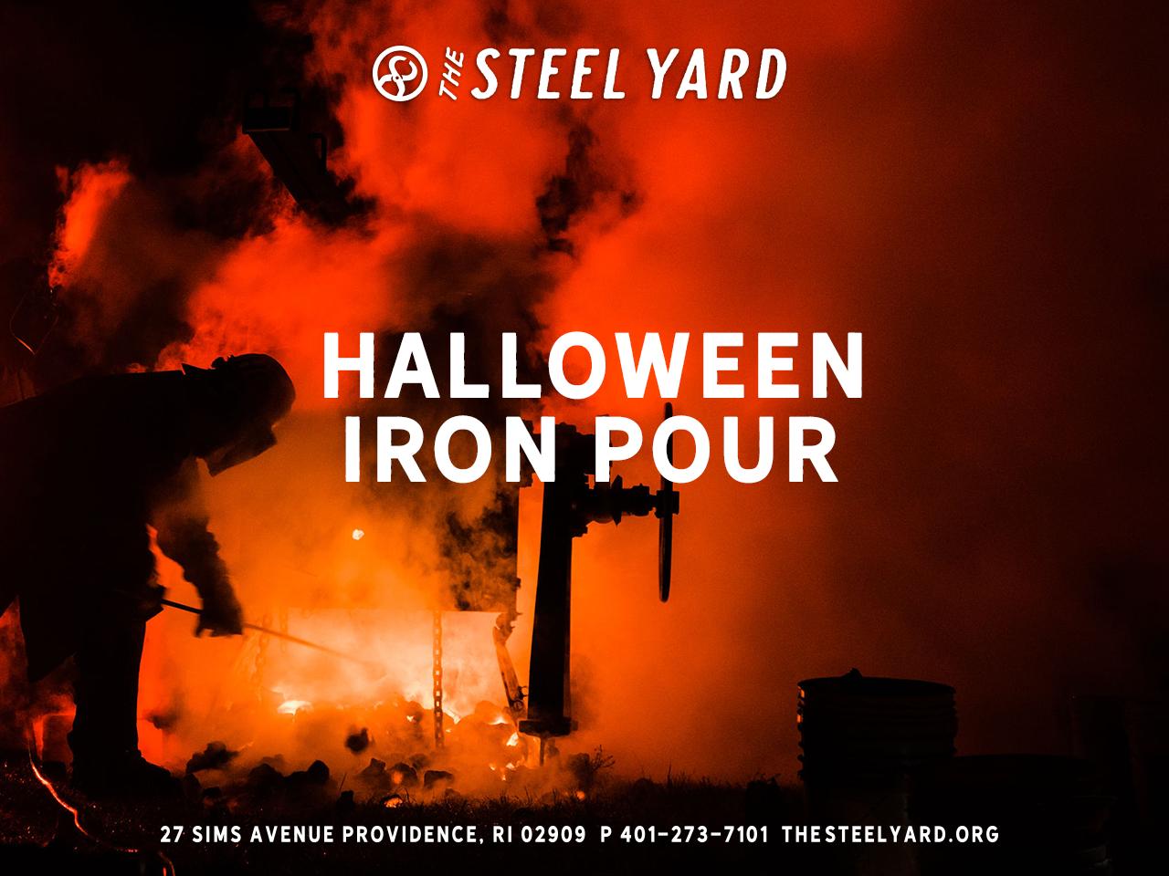 Providence Halloween 2020 Halloween Iron Pour   17 OCT 2020