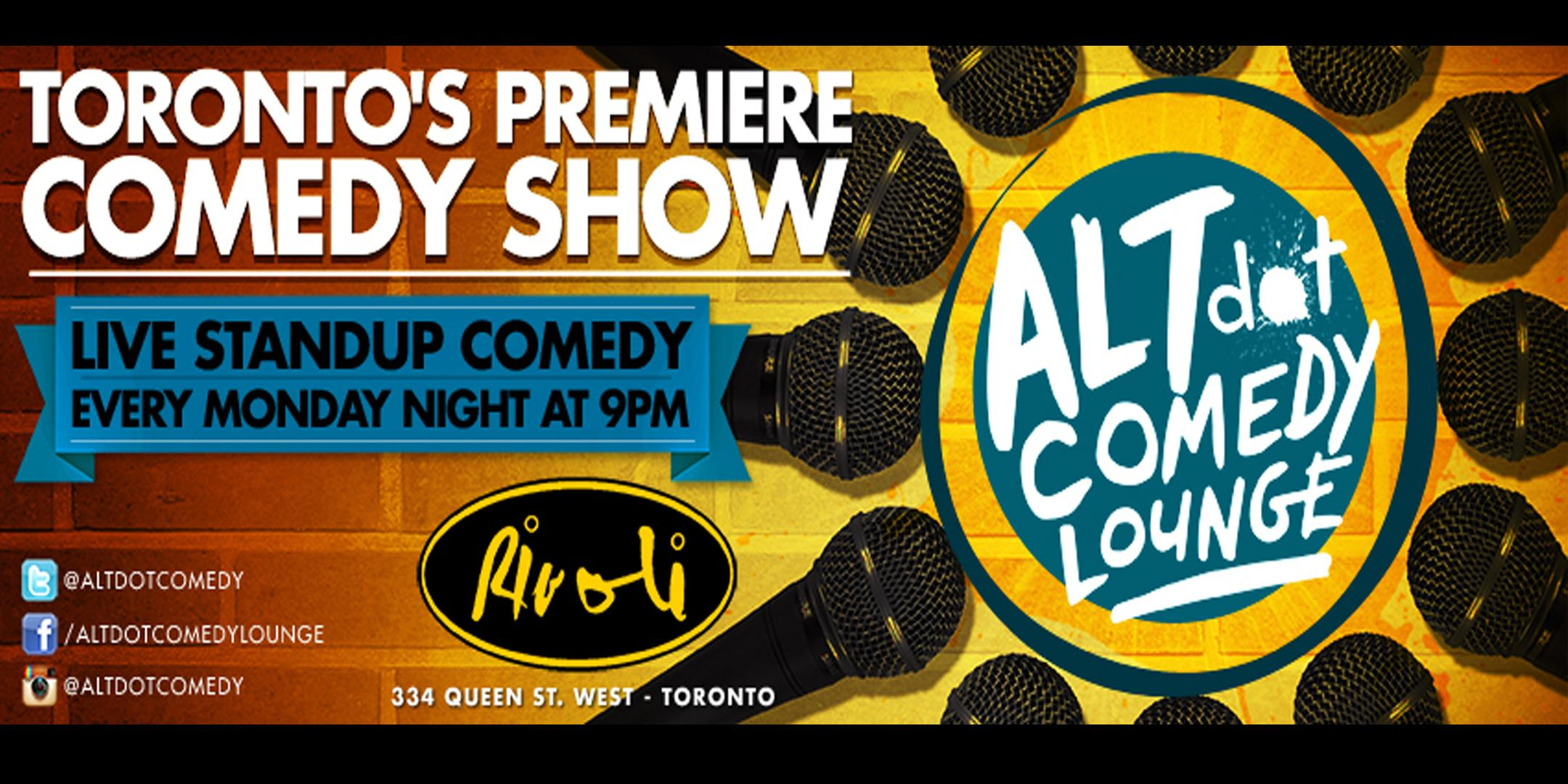 ALTdot Comedy Lounge - June 8 @ The Rivoli