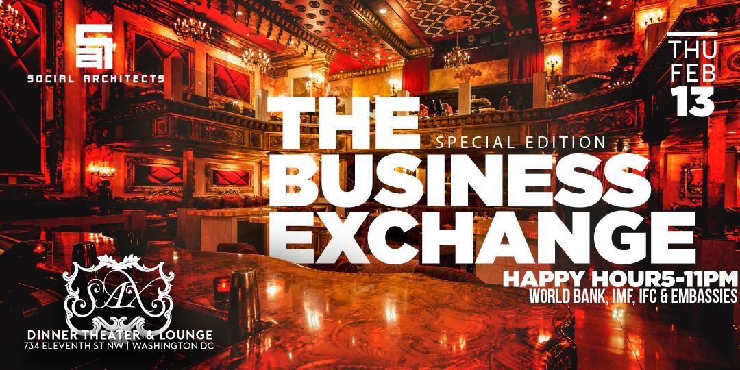The Business Exchange | Happy Hour {Thursdays}