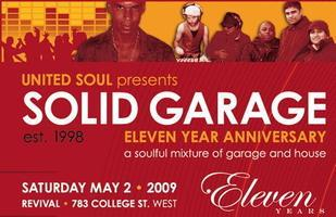 Solid Garage 11yr Anniversay w/ Arnold Jarvis (NYC),...