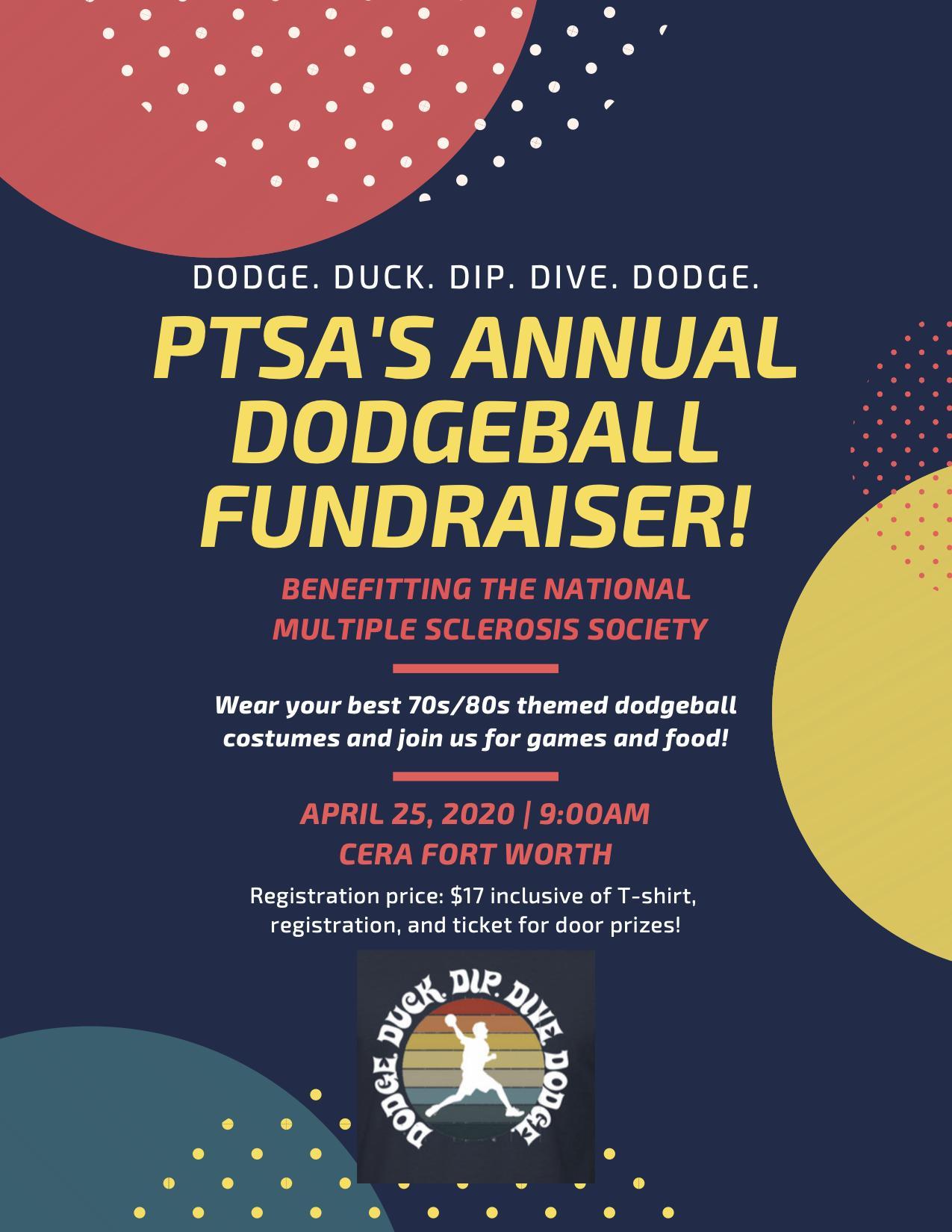 PTSA's Annual Dodgeball Tournament - POSTPONED INDEFINITELY, DATE PENDING