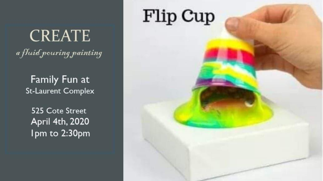 Create Your Own Fluid Paint Pouring