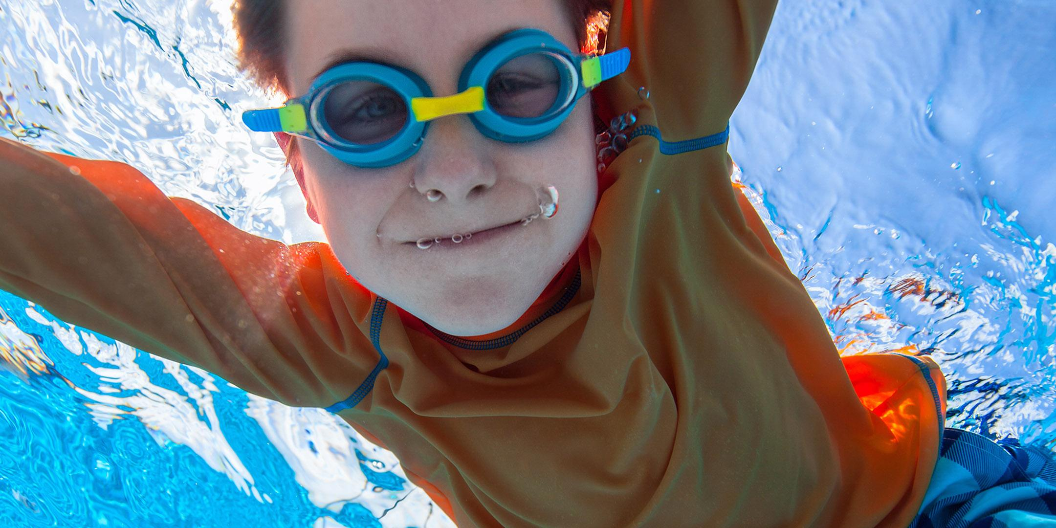 Waterworld sensory-friendly family swimming night