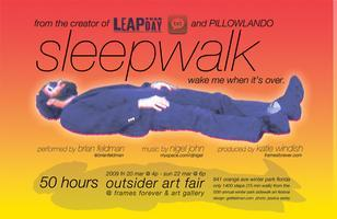 sleepwalk (50 hour performance)