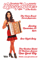 Lucy Alves from The Voice Brasil Live at The Carlton Ho...