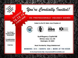 Professionals' Holiday Soiree Hosted By Washington DC...
