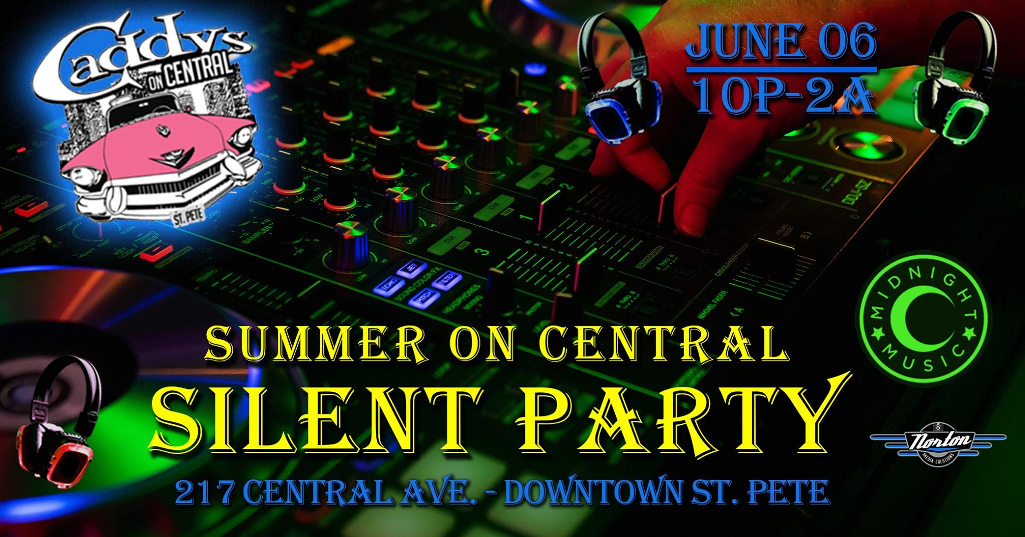 Summer on Central Silent Party