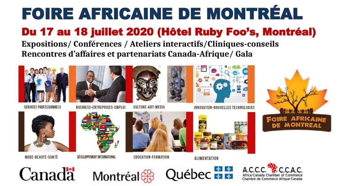 FOIRE AFRICAINE DE MONTRÉAL - 6eme édition